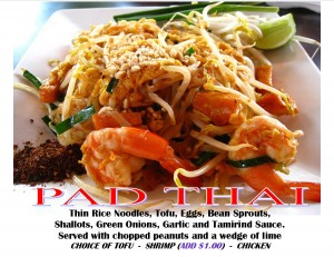 PAD THAI SHRIMP WITHOUT PRICE